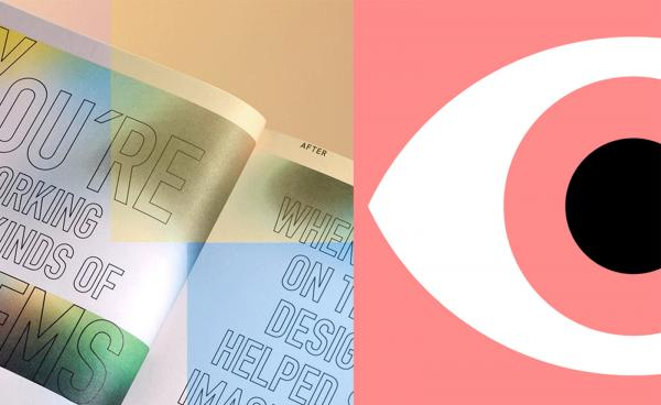 AIGA Eye on Design Logo and Book
